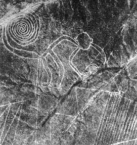 Nazca Lines - monkey