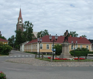 Raahe town Finland