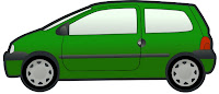 green car