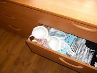 lingerie drawer