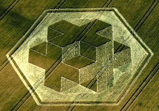 3D Warminster crop circle