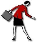 business woman clip art