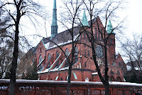 Widok na Kościół św. Antoniego na Karłowicach - Wrocław