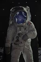 kosmonauta na księżycu