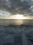 Kruiend ijs bij Mirns!