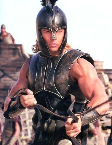 Achilles Brad Pitt MI PEQUEÑO MUNDO:...
