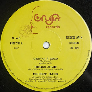 Cruisin' Gang - Affair A Gogo (Maxi Single) 1983