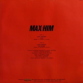 Max-Him - Lady Fantasy (Maxi Single) 1985