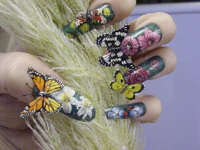 3-d Nail Art is so Lovely! photo 12