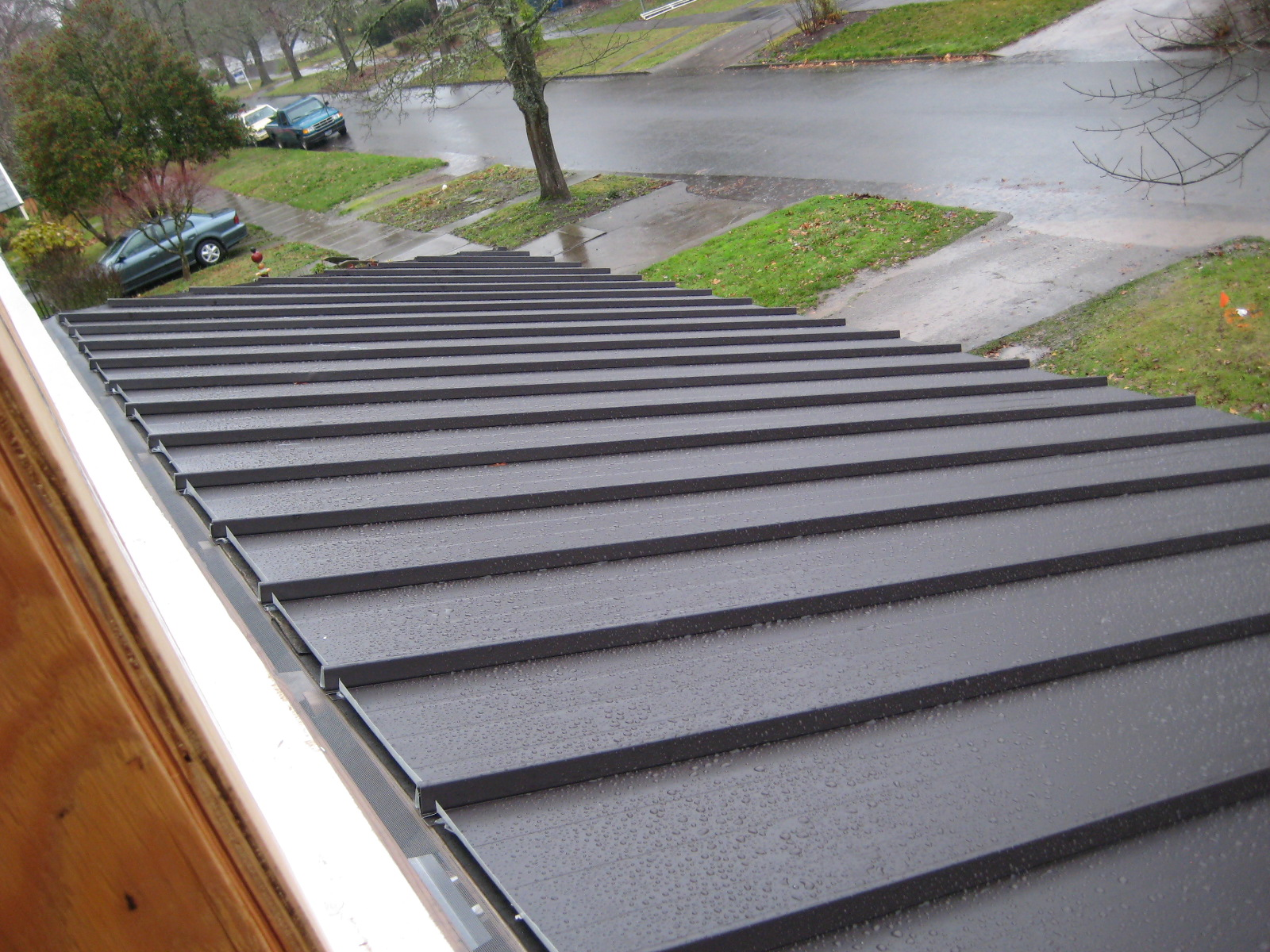 Metal roofs metal porch roof for Metal roof porch pictures