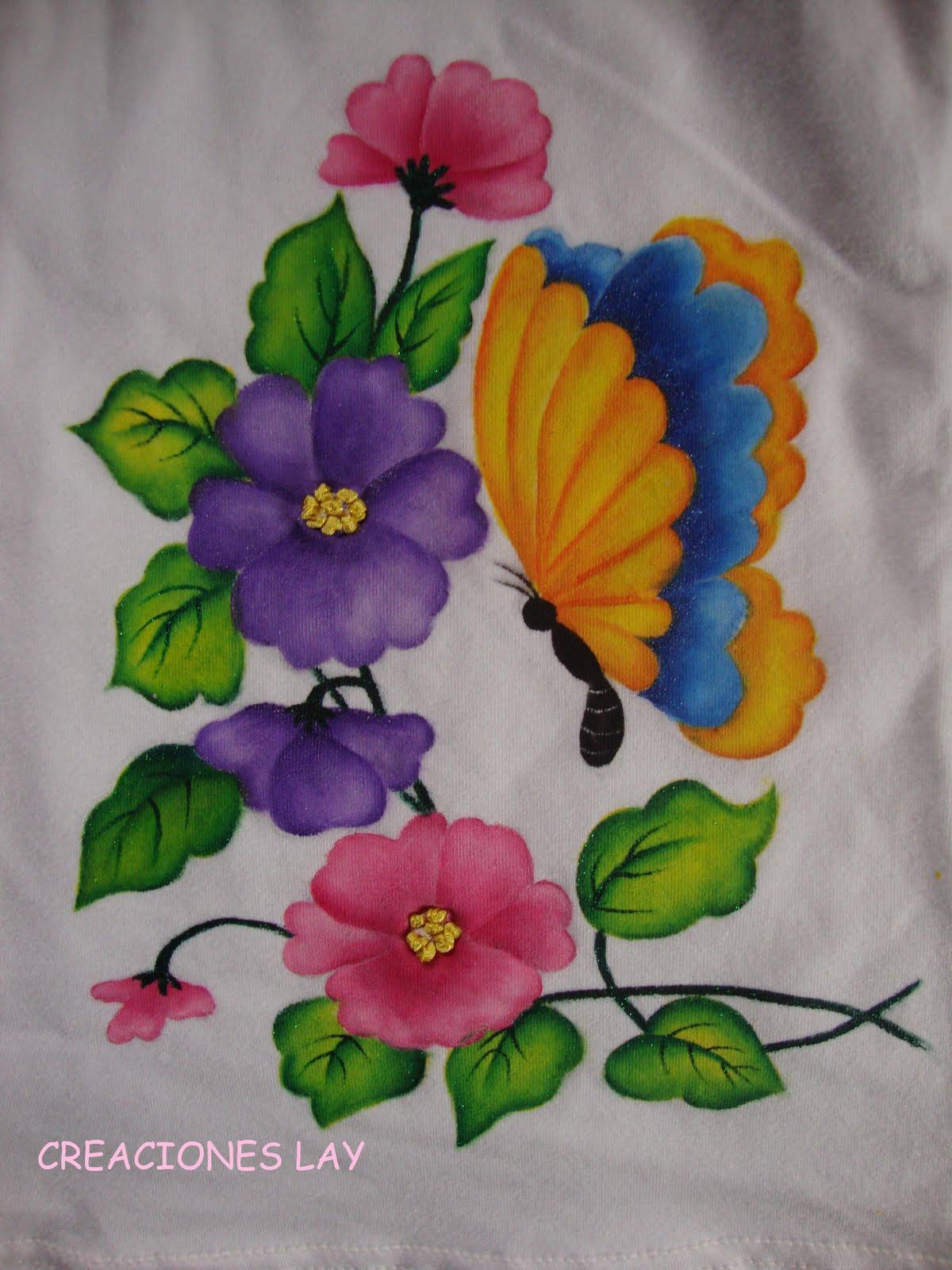 Imagenes De Flores En Telas