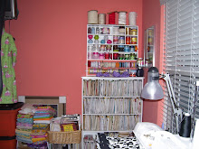 my messy sewing room