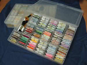 Caja de ordenacion de hilos