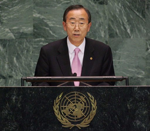 Ban Ki Moon, Secretary General, UN