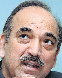 Ghulam Nabi Azad, New Minister of Health &amp; Family Welfare
