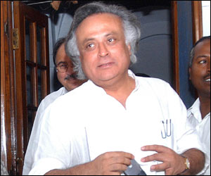 Jairam Ramesh, Union Minister of State for Environment (Independent)