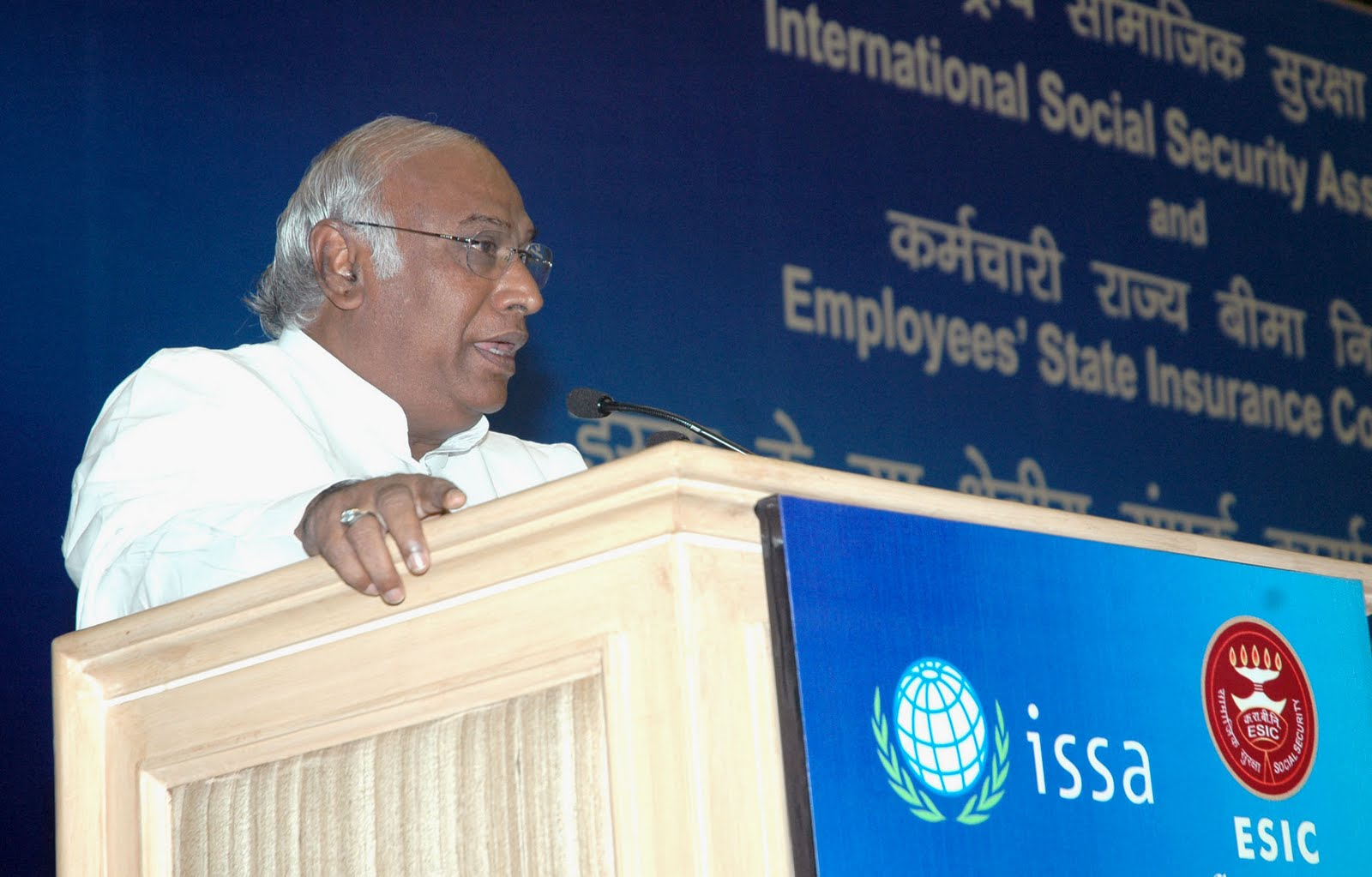 Mallikarjun Kharge, Union Minister for Labour