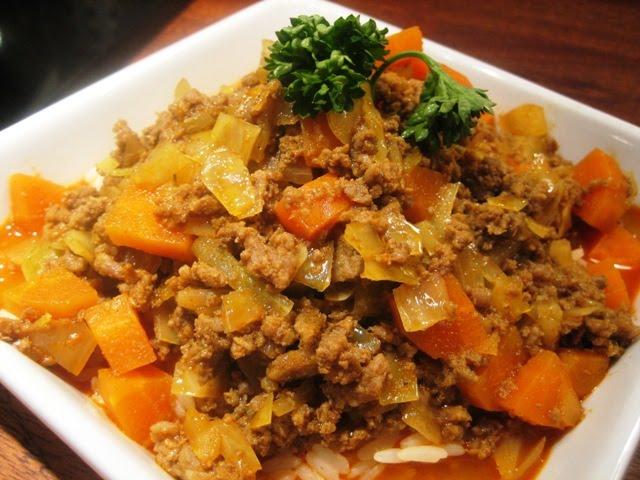 sund mad hakket oksekød