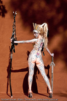 Charcter Body Paint | Body Painting1