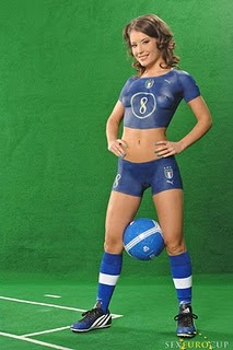 Football Soccer Sexy Girls Body Art Paintings Jersey