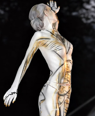 bodypaint, airbrush