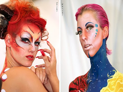 Picture Women's Body Paintings