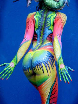Full Color Body Painting