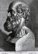 Hippocrates 、医学の祖<br>(460 BC – 370 BC)