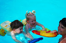 Quinn swimming lessons