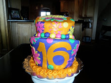 Sweet 16 cake for my cousins!