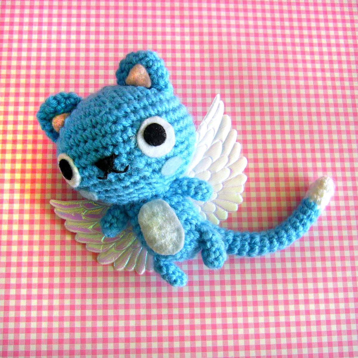 Amigurumi Dog Tail : berrysprite: Happy from fairy tail