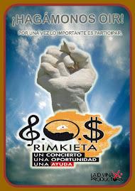 MEGA CONCIERTO LA DIVINA PRODUCTORA Y  AMIGOS DE RIMKIETA