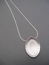 Vintage Mirror pendant