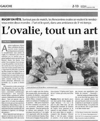 Revue de Presse - Sud-Ouest 19/09/08