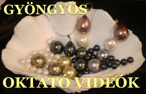 OKTATÓ VIDEÓK - Beading videos