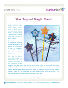 Star Topped Magic Wand