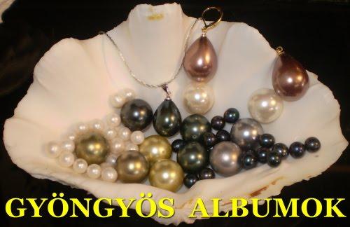 GYÖNGYÖS ALBUMOK - Beading albums