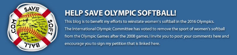 Help Save Olympic Softball