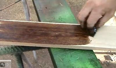 Decoraciones manualidades en madera como envejecer un - Como envejecer un mueble barnizado ...