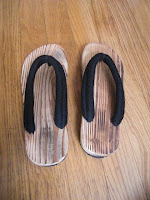 chaussures japon kimono