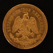 Umas das moedas do mexico.