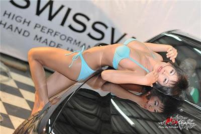 สาวสวย เซ็กซี่ ล้างรถ คาร์แคร์ Sexy Car Care