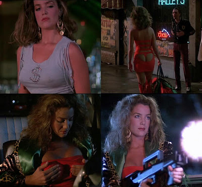 Claudia Christian was a real hottie in this one, and got to have some fun as ...