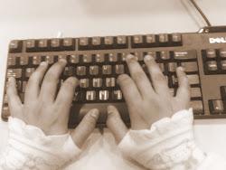 aku menulis..apa yang tidak mampu aku bicarakan..