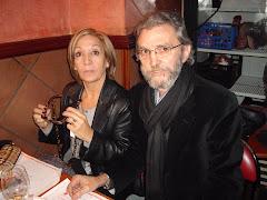 Con mi prima Charo en Barcelona