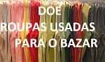 DOE ARTIGOS PARA O BAZAR