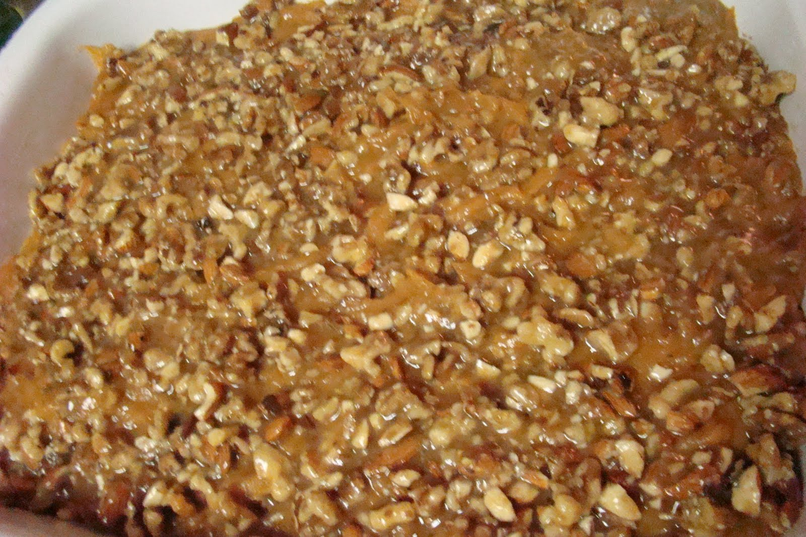 ... Recipes Collection: Maple/ Almond-Pecan glazed Sweet Potato Casserole