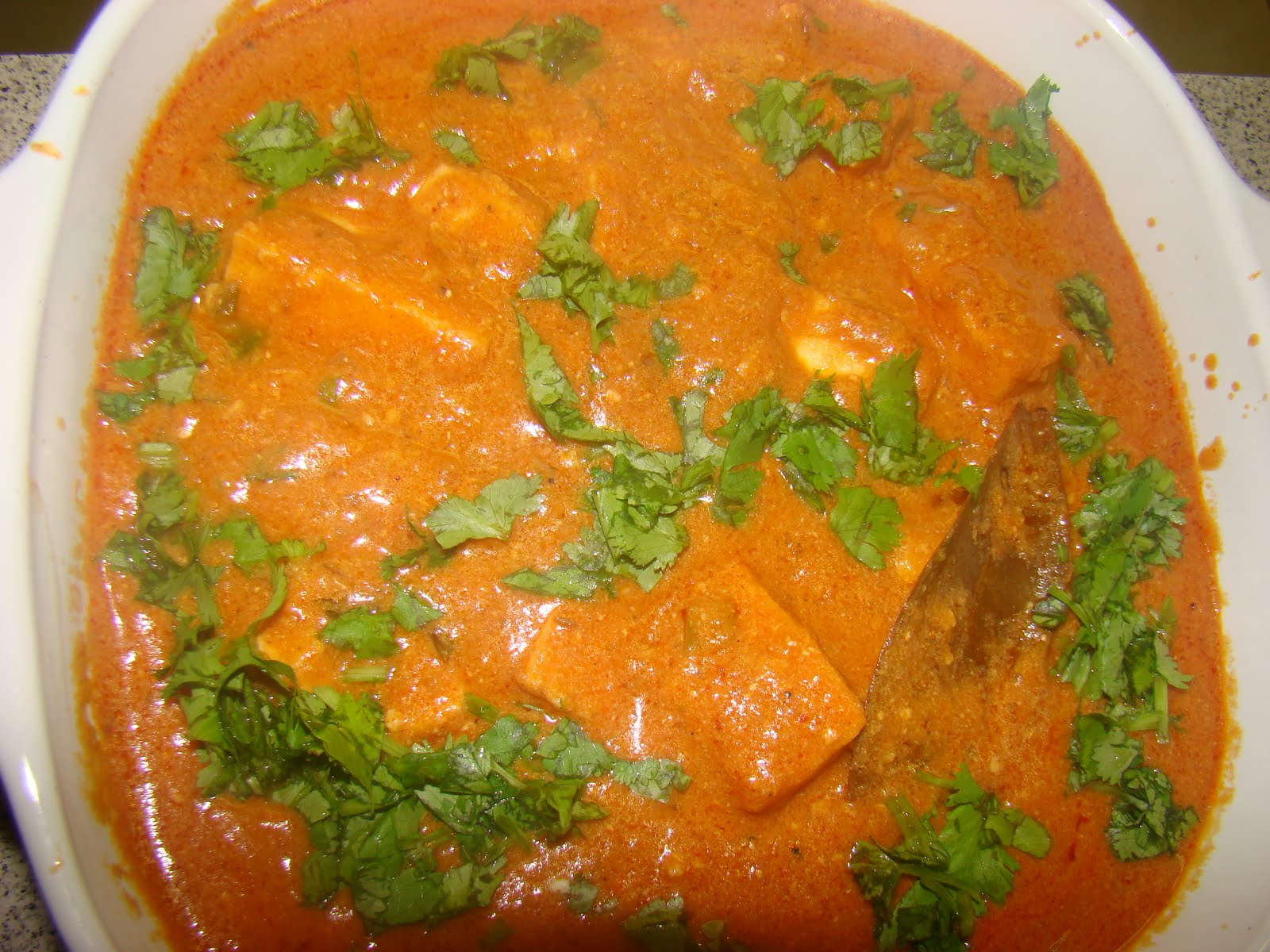 My Favorite Recipes Collection: Paneer Makhani or Butter Paneer