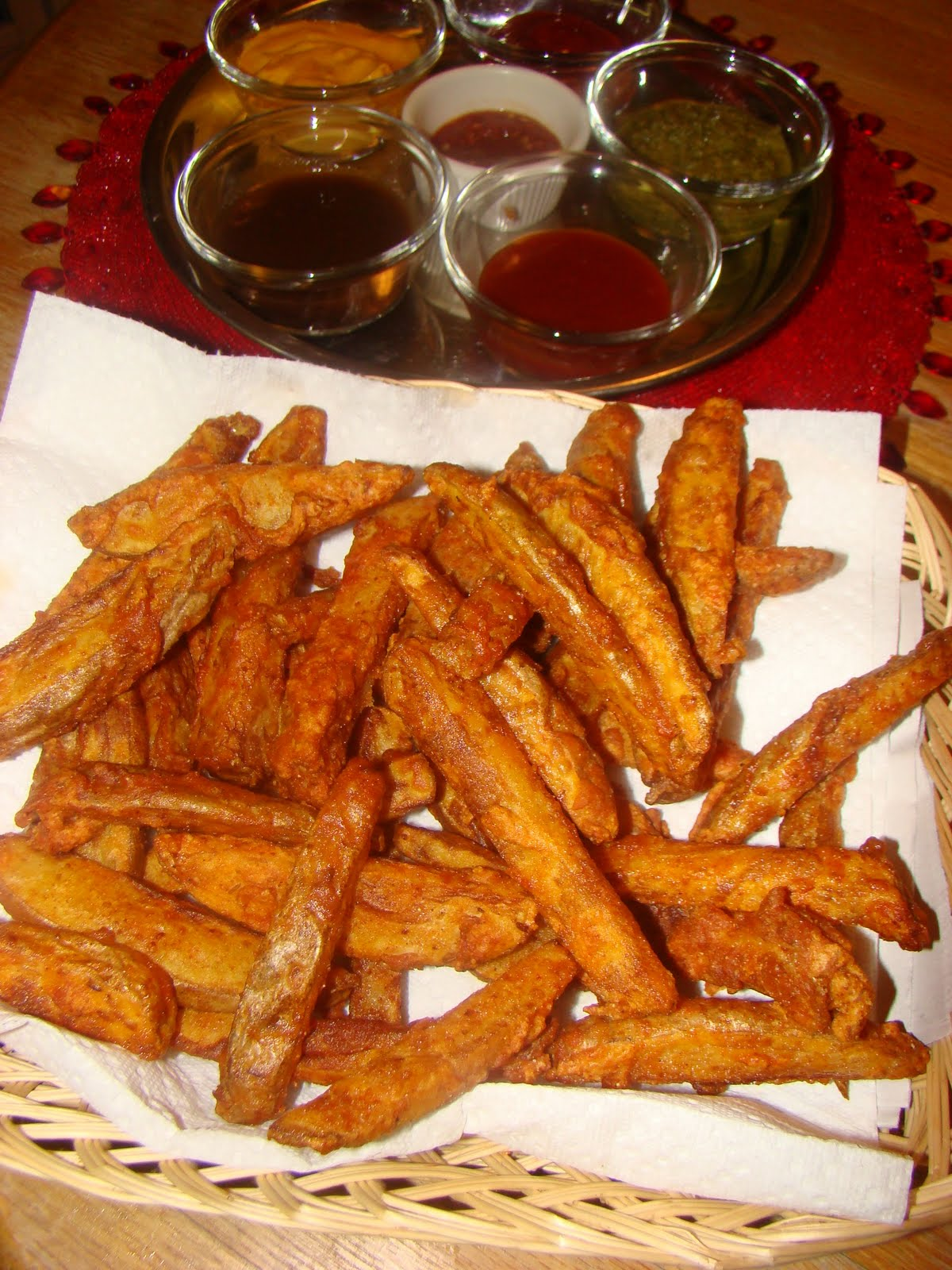 My Favorite Recipes Collection: Crispy Homemade Seasoned French Fries