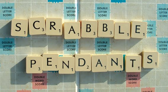 SCRABBLE PENDANTS